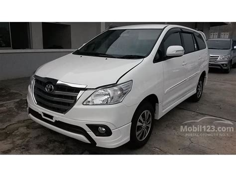 Sarung Jok Mobil Kijang Innova All Type Tahun jual mobil toyota kijang innova 2015 2 0 di dki jakarta manual putih rp 255 000 000 2180093
