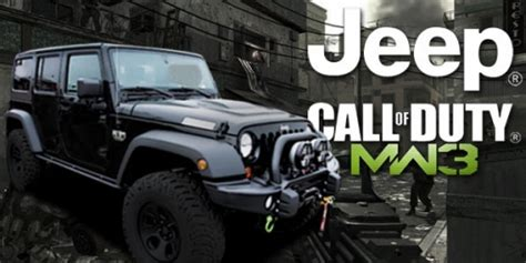 call of duty jeep modern warfare 2012 jeep wrangler call of duty mw3 reports for duty at