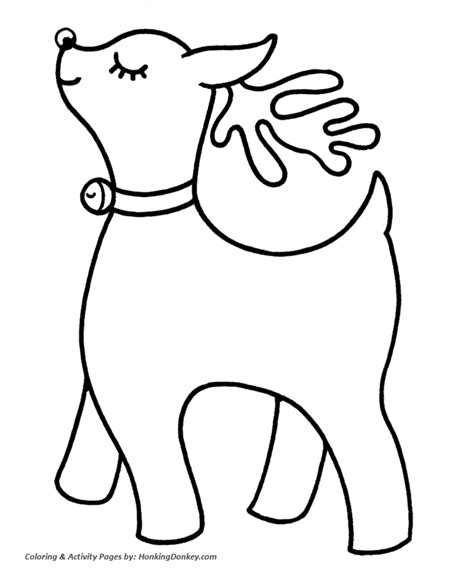 search results for easy christmas colouring pages