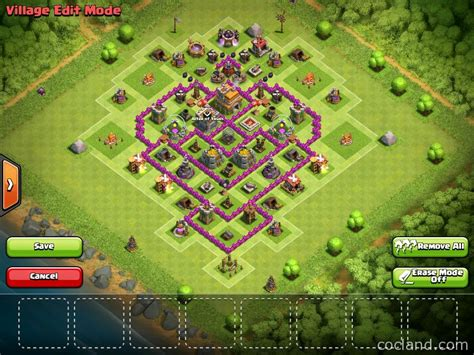 layout th7 farming th7 farming base with 3 air defenses http cocland com