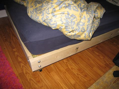 Diy Bed Platform Strong And Tough Platform Bed Diy
