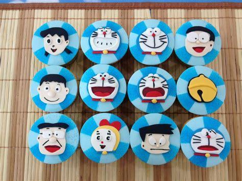 Doraemon Polka doraemon cupcake my cupcake cupcake