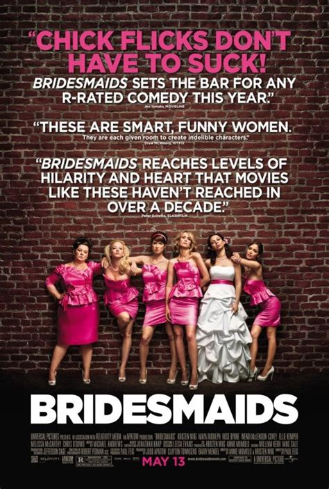 film quotes poster some thoughts on bridesmaids and the bridesmaids thing