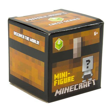 figure box minecraft mini figure 1 blind box 2 chest series at