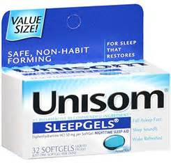 Unisom contains the other type of antihistamine typically found in