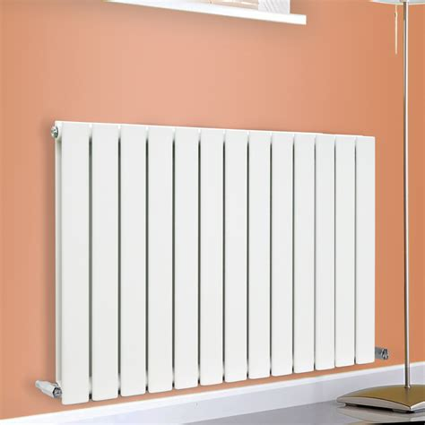White Bathroom Radiator by Flat Panel Column Designer Modern Bathroom Radiators