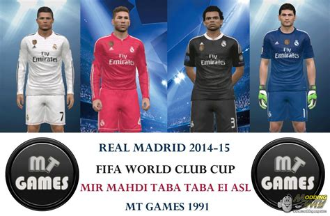 Diskon Patch Fifa Wcc Real Madrid 2014 Real Madrid 2015 Wcc Logo By Mt Pro Evolution