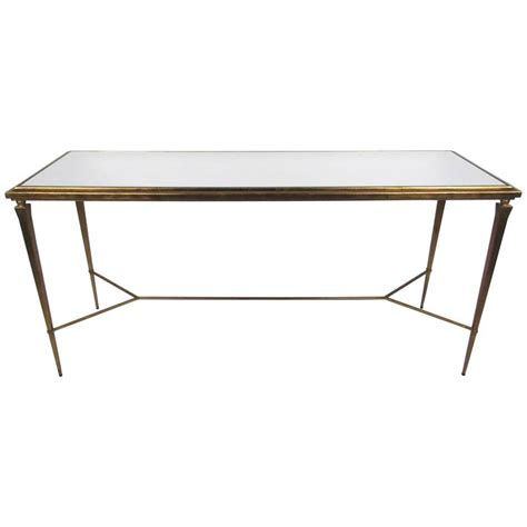 Mirrored Table L Mirrored Table L Richard Collection Eliza 96 Quot L Antiqued Mirrored Dining Table Mirrored