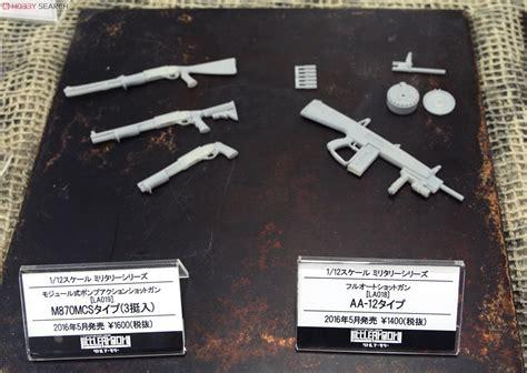 Armory La019 112 M870mcs Type Plastic Model tag hobby 187 2016年1月13日 tomytec新製品説明會2016冬 1 12 armory series