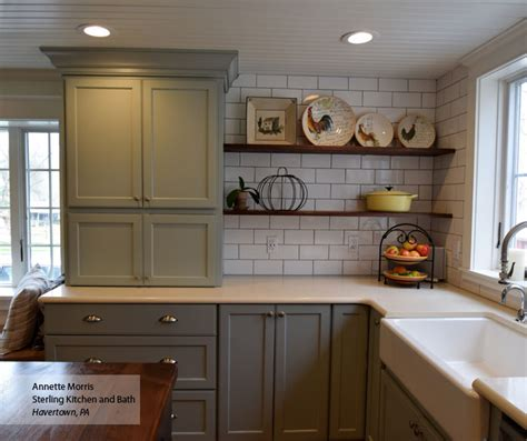 Farmhouse Kitchen Cabinet by Williamsburg Flat Panel Cabinet Doors Omega Cabinetry