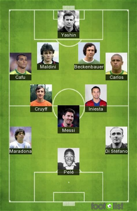 best of all time best team of all time by juninho footalist