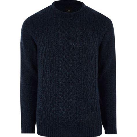 cable knit jumper navy cable knit jumper jumpers cardigans sale