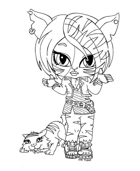 monster high coloring pages toralei stripe monster high coloring pages posts related to baby