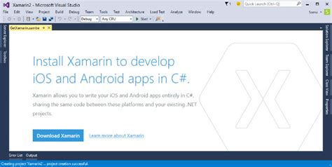 membuat aplikasi android dengan microsoft visual studio microsoft umumkan visual studio 2015 dan open source net