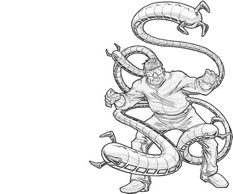 doctor octopus coloring pages coloring pages
