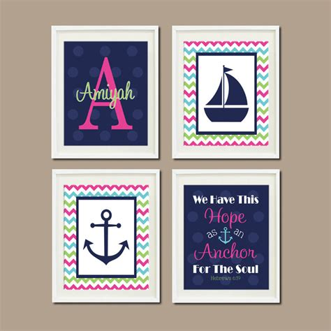 nautical wall coastal nursery artwork 28 images