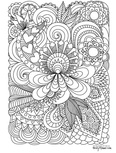 Free Printable Coloring Pages Adults 11 Free Printable Adult Coloring Pages by Free Printable Coloring Pages Adults