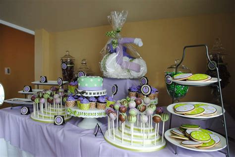 Purple And Brown Baby Shower by Green Purple And Brown Baby Shower Ideas Photo 8