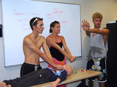 learn about the duties of a lifeguard in preparation program santan sun news