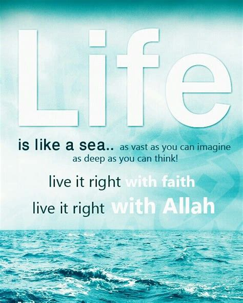 quotes about islam 1086 quotes life sea islamic quotes muslim quotes islam