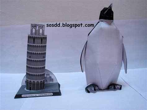 Papercraft Penguin - blowwater 3d papercraft emperor penguin