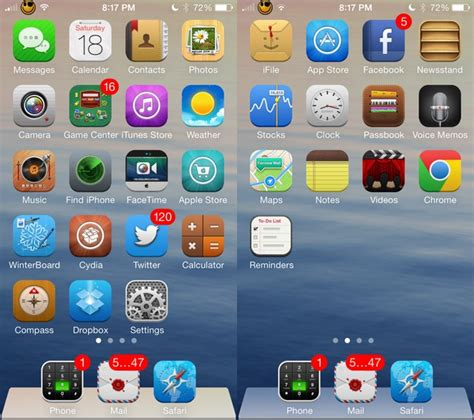 iphone themes for iphone 6 ayecon one of the best ios 7 theme