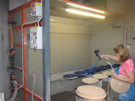 cabine verniciatura cabine per verniciatura ad acqua in materiale antiaderente