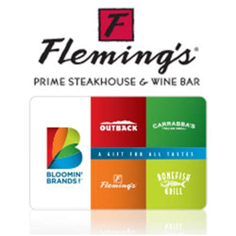 Flemings Gift Card - buy fleming s gift cards at giftcertificates com