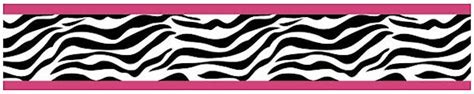 zebra print wallpaper border for bedrooms zebra print wallpaper border pink black white for girls