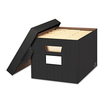 Decorative File Boxes by Bankers Box 174 Stor File Decorative Medium Duty Storage