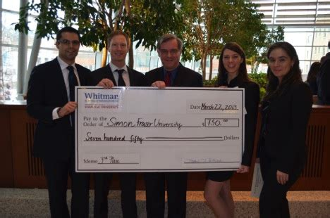 R Dsyracuse Mba by Whitman Competition A Few Minds Vancouver Mba