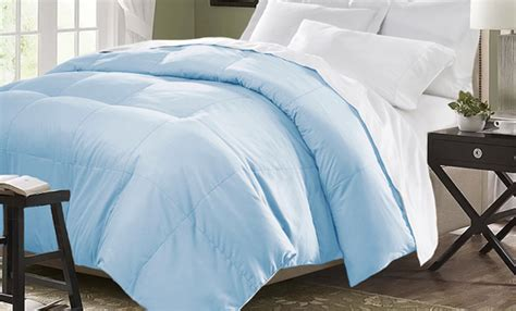 light blue comforter twin all seasons down alternative comforter