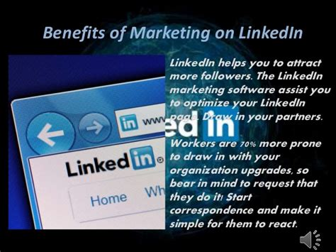 Benefit Of Mba In Marketing by Benefits Of Marketing On Linked In