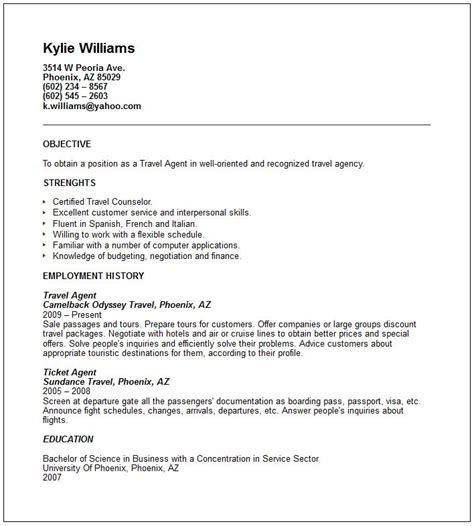 Cover Letter Travel Industry by Cover Letter Travel Agency Exle Cover Letter