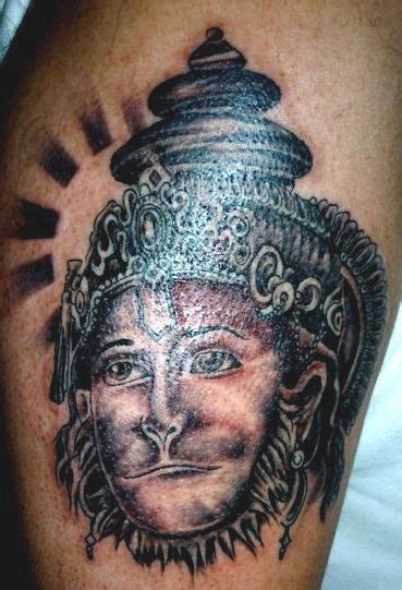 hanuman tattoo lord hanuman artwork rip tattoos