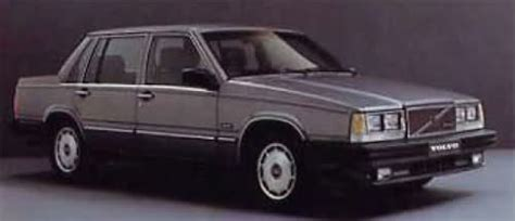1984 Volvo 360 Gle Related Infomation Specifications