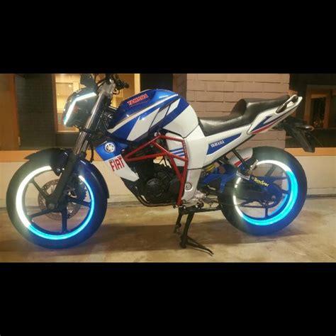 yamaha fz rim wrap coverset lining design motorbikes