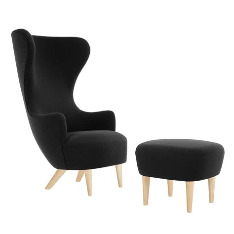 wingback chair ottoman wingback ottoman tom dixon im shop