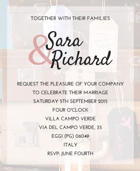 templates for wedding invitations abroad destination wedding invitation wording weddings abroad guide