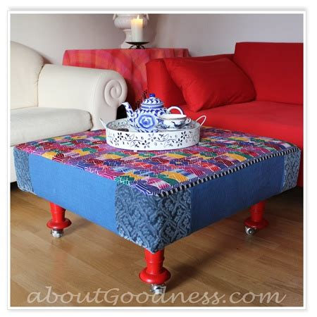 how to build an ottoman with legs love this step by step on how to make your own big