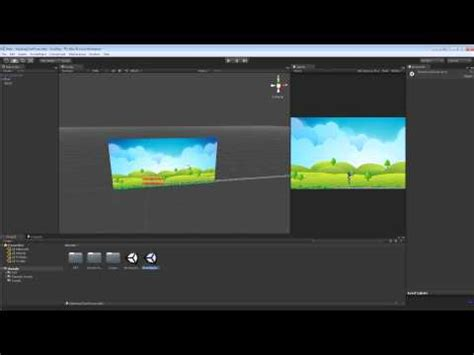 tutorial unity sidescroller 3 how to make a 2d platformer parallax scrolling