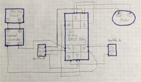 losing diagram dc motor speed controller causing relay to lose voltage