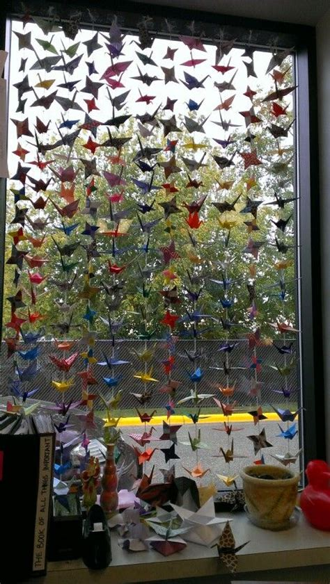 Origami Crane Curtain - 17 best images about on origami
