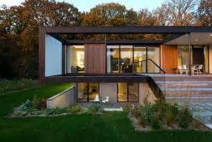 www freshome com modern family home in denmark brings the forest inside