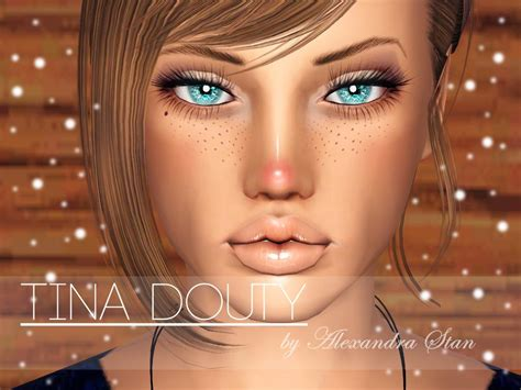 sims 3 weihnachten download the fashion sims model tina douty blanca diadoff by sirenity sims
