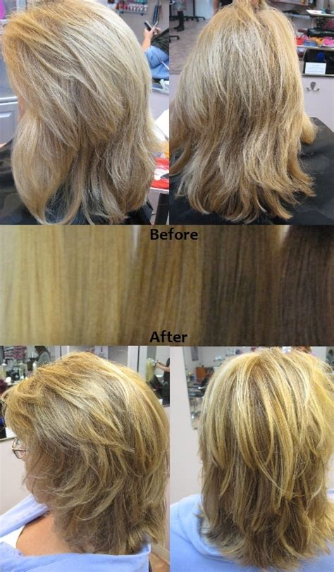 add depth and dimension to your hair with highlights 22 best images about our very own salon work on pinterest