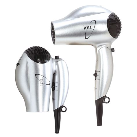 Hair Dryer Travel ion dual voltage conditioning ionic tourmaline