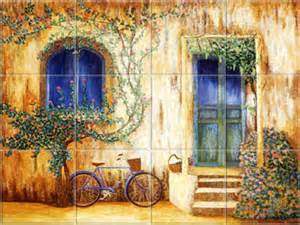 french wall murals tile wall murals and backsplashes of france and french