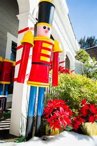 life sized nutcracker soldier made from buckets pvc pipe