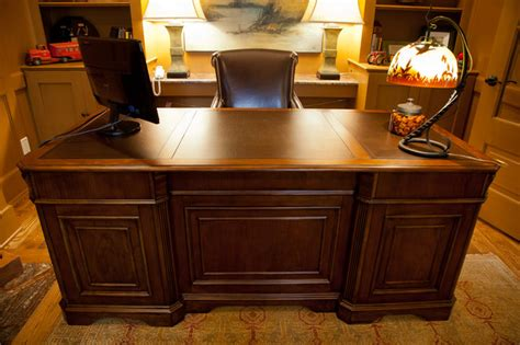 home decorators desk paneled executive desk eclectic home office other